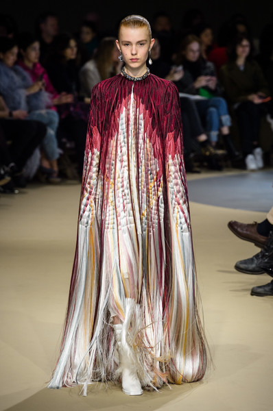Alexander McQueen at Paris Fashion Week Fall 2018