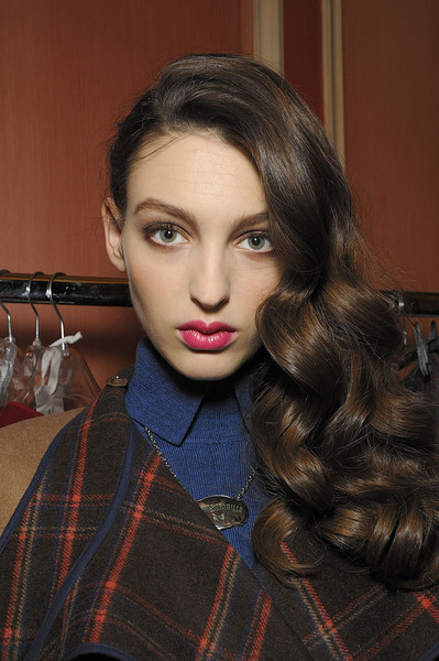 Alexis Mabille at Paris Fall 2011 (Backstage)