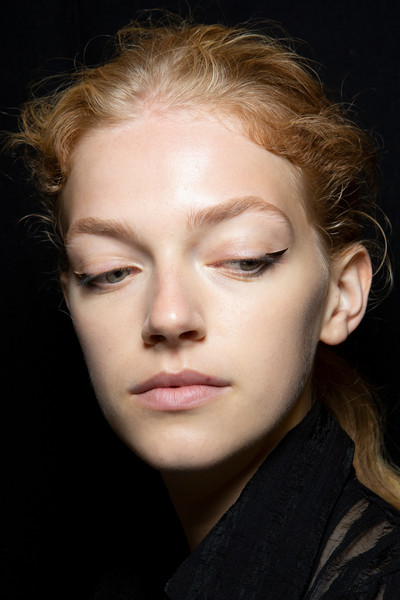 Altuzarra at Paris Spring 2020 (Backstage) [face,hair,eyebrow,cheek,chin,lip,forehead,nose,beauty,skin,actor,miss,altuzarra,petra hultgren,model,hair,eyebrow,lip,sweden,paris fashion week,petra hultgren,neben der spur,actor,miss sweden,swedish national academy of mime and acting,model,schauspielervideos,portrait -m-,television]