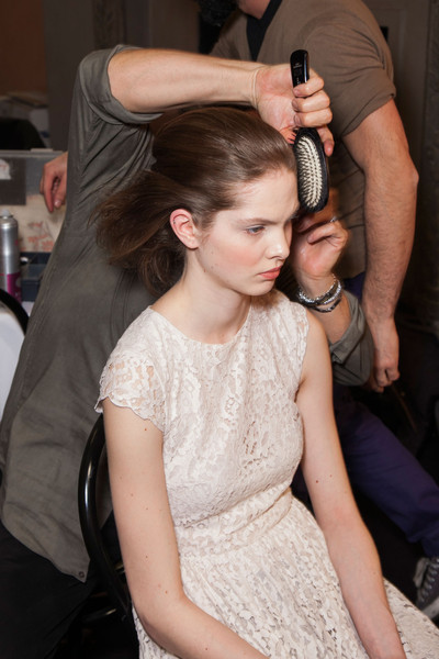 Andrea Incontri at Milan Fall 2013 (Backstage)