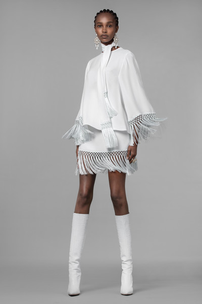Andrew Gn at Paris Spring 2021 [white,clothing,fashion,shoulder,fashion model,joint,knee,footwear,human leg,leg,footwear,fashion,clothing,white,shoulder,human leg,leg,fashion model,paris fashion week,andrew gn]