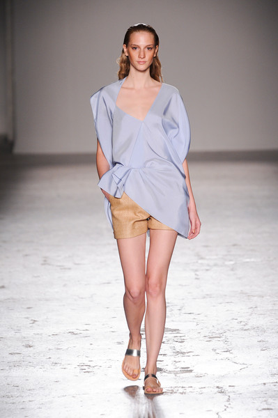 Angelos Bratis at Milan Spring 2014