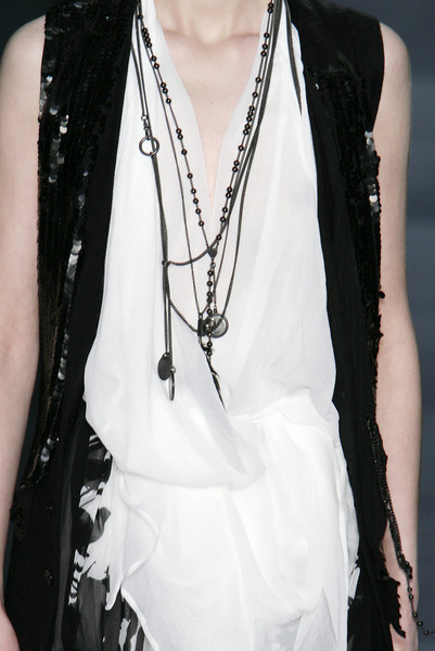 Ann Demeulemeester at Paris Fall 2007 (Details)