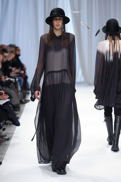Ann Demeulemeester at Paris Fall 2013