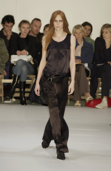 Ann Demeulemeester at Paris Spring 2002