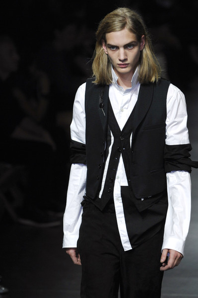 Ann Demeulemeester at Paris Spring 2008