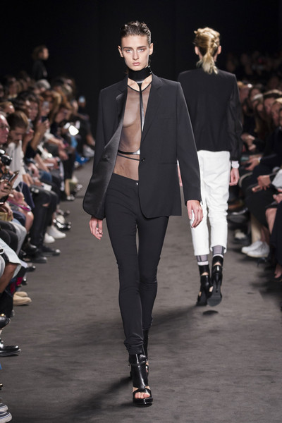 Ann Demeulemeester at Paris Spring 2016
