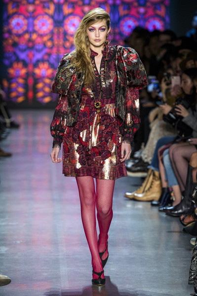 Anna Sui at New York Fall 2018