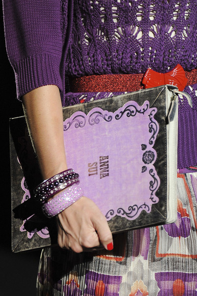Anna Sui at New York Spring 2012 (Details)