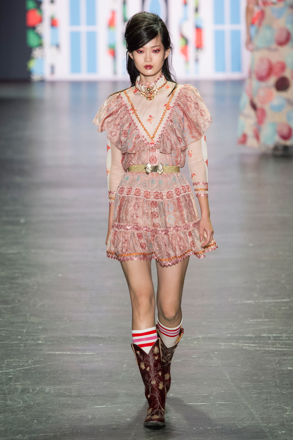 Anna Sui Fall 2018 Ready-to-Wear Collection - Vogue 47