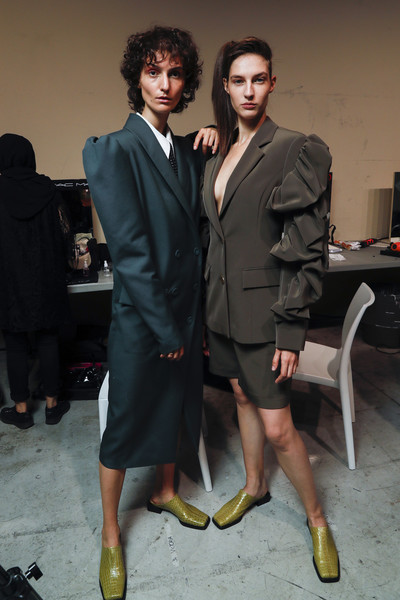 Annakiki Bks Bis at Milan Spring 2020 (Backstage)