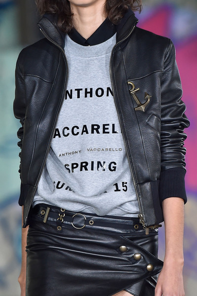 Anthony Vaccarello at Paris Spring 2015 (Details)
