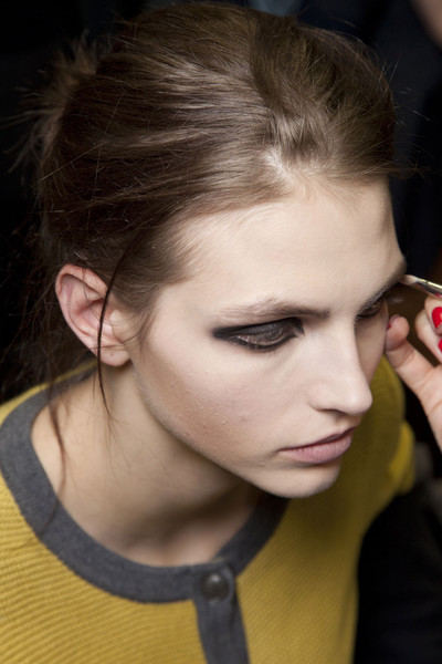 Antonio Marras at Milan Fall 2012 (Backstage)