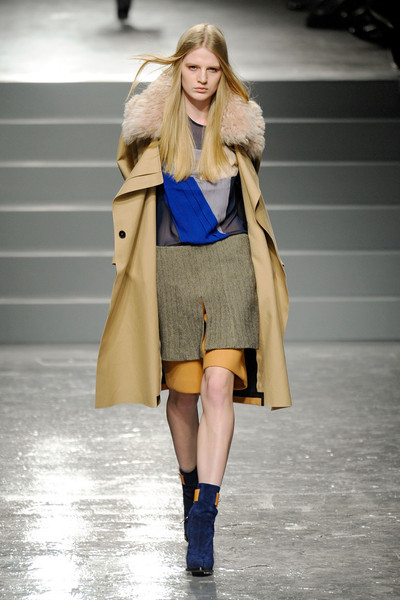 Aquascutum at London Fall 2011