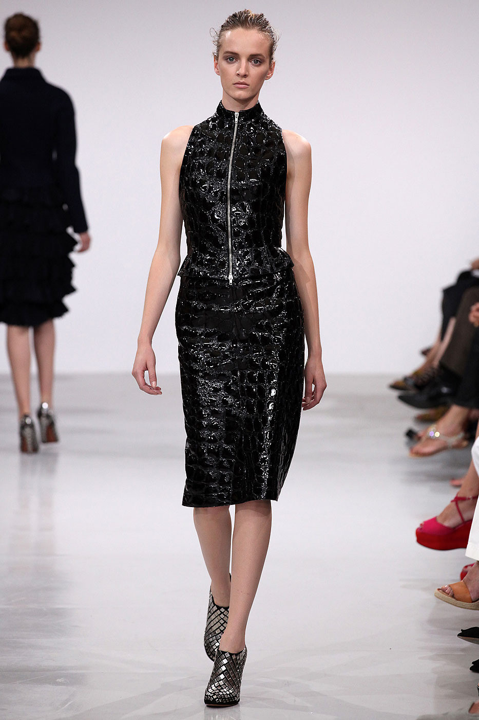 Azzedine ala a at couture fall 2011 livingly for Designer alaia azzedine