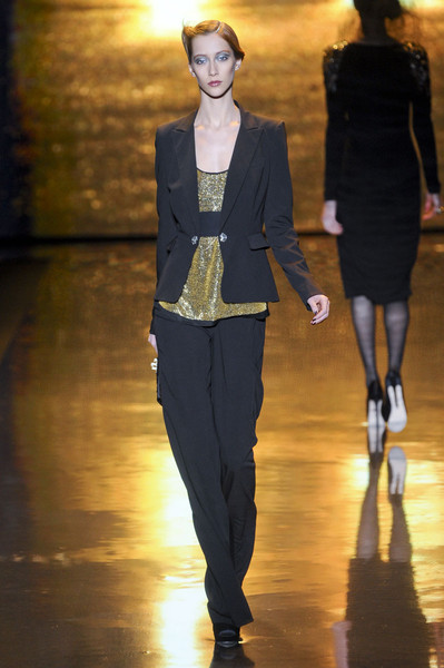 Badgley Mischka at New York Fall 2011