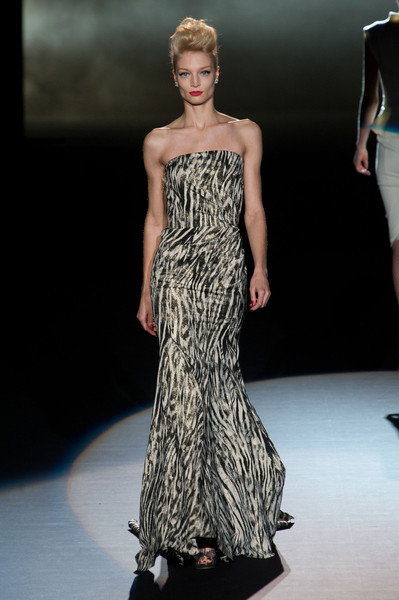 Badgley Mischka at New York Fall 2013