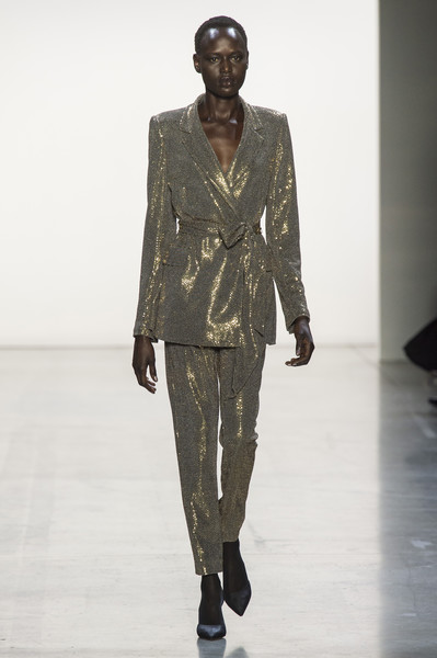Badgley Mischka at New York Fall 2019