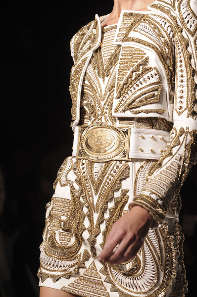 Balmain at Paris Spring 2012 (Details)