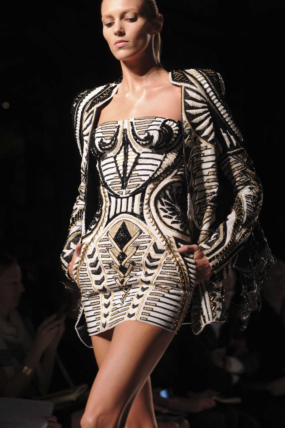 Balmain At Paris Fashion Week Spring 2012 Livingly