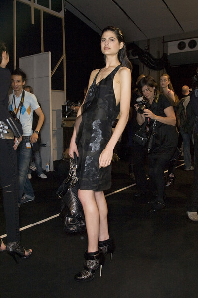 Barbara Bui at Paris Spring 2009 (Backstage)