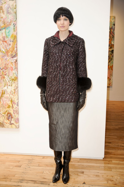Barbara Tfank at New York Fall 2011