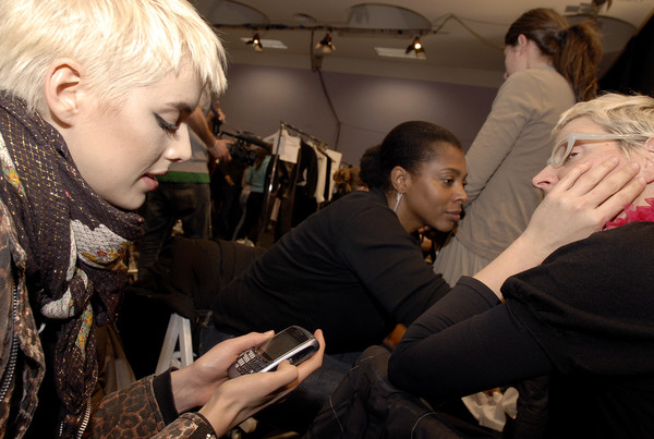 Belstaff at Milan Fall 2007 (Backstage)