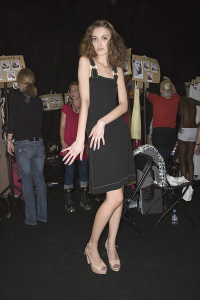 Ben de Lisi at London Spring 2008 (Backstage)