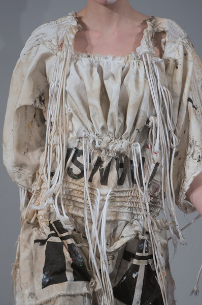Bernhard Willhelm at Paris Fall 2012 (Details)