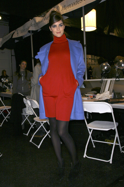 Bill Blass at New York Fall 2007 (Backstage)