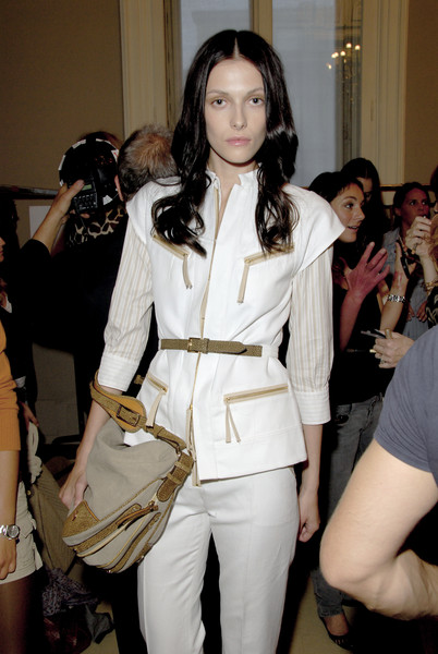 Borbonese at Milan Spring 2007 (Backstage)