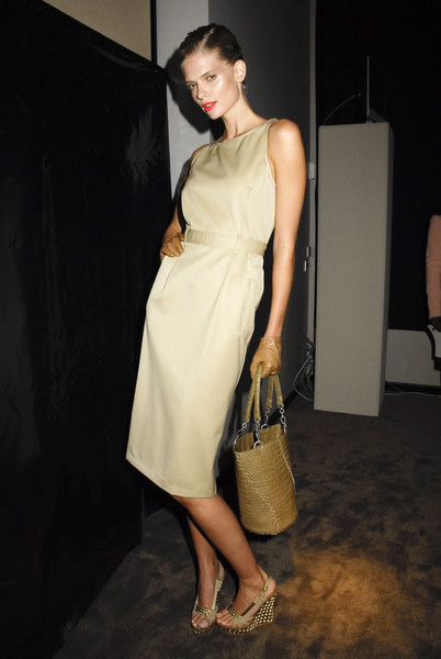 Bottega Veneta at Milan Spring 2008 (Backstage)