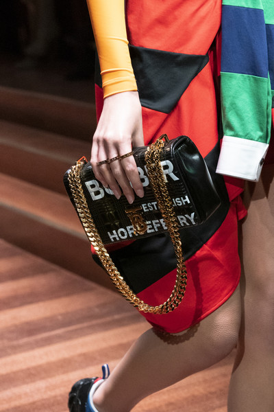 Burberry Prorsum at London Fall 2019 (Details)