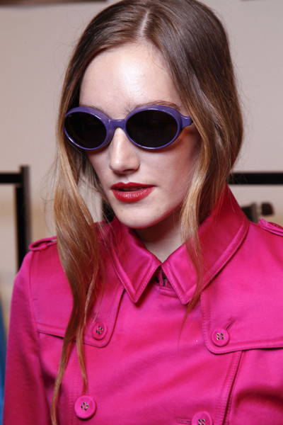 Burberry Prorsum at London Spring 2013 (Backstage)