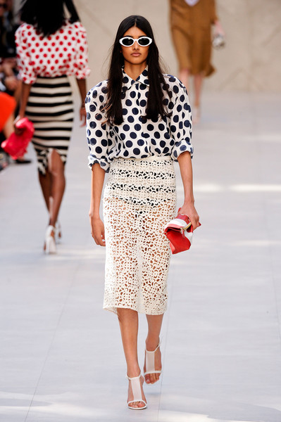 Burberry Prorsum at London Spring 2014
