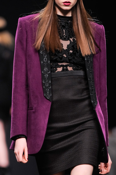 Byblos at Milan Fall 2013 (Details) [fashion model,fashion,fashion show,clothing,runway,haute couture,purple,model,magenta,long hair,socialite,supermodel,fashion,model,runway,haute couture,purple,fashion model,milan fashion week,fashion show,runway,fashion show,model,supermodel,haute couture,fashion,socialite,purple]