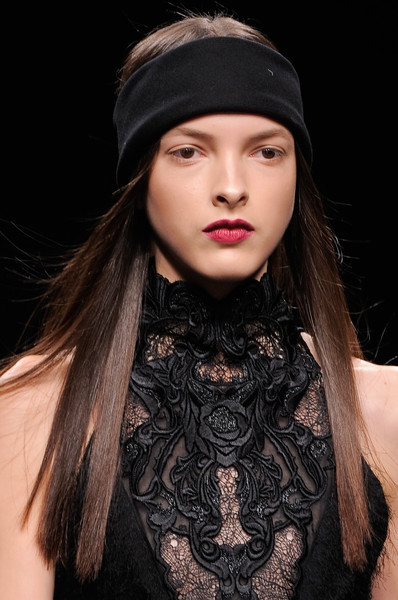 Byblos at Milan Fall 2013 (Details) [hair,face,clothing,fashion,lip,beauty,beanie,fashion model,neck,headgear,fashion,beauty,hairstyle,model,hair,makeup,life hack,beautym,byblos,milan fashion week,fashion,manicure,model,facial makeup,hairstyle,beauty,beautym,life hack]
