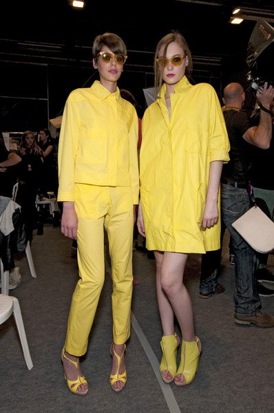 Cacharel at Paris Spring 2011 (Backstage)