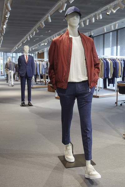 Canali at Milan Spring 2021 [jeans,clothing,fashion,denim,standing,snapshot,street fashion,outerwear,footwear,jacket,jeans,shoe,fashion,denim,street fashion,standing,snapshot,canali,dkny,milan fashion week,jeans,fashion,shoe,denim,ready-to-wear,dkny,canali,damir doma]