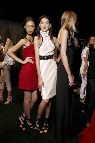 Carlos Miele at New York Spring 2009 (Backstage)