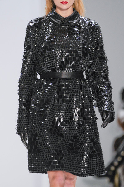 Carmen Marc Valvo at New York Fall 2013 (Details)