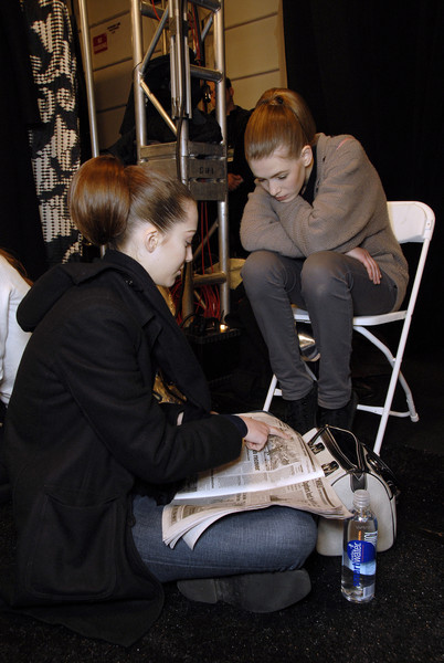 Carolina Herrera at New York Fall 2007 (Backstage)