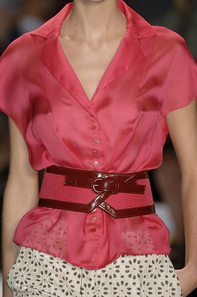 Carolina Herrera at New York Spring 2007 (Details)