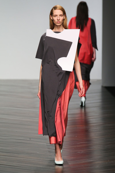 Central Saint Martins MA - Nayoung Moon at London Fall 2013