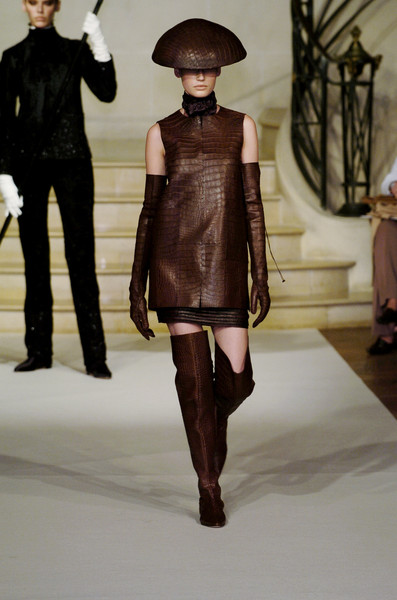 Chado Ralph Rucci at Couture Fall 2004