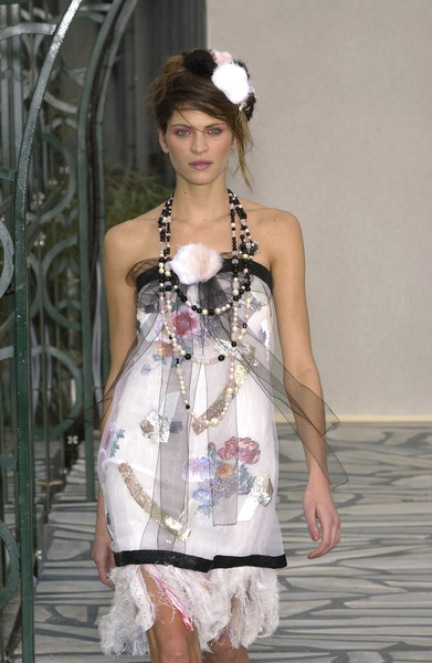 Chanel at Couture Spring 2003
