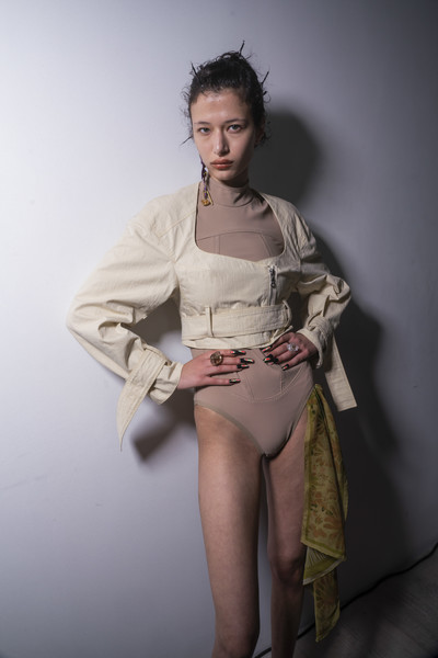 Charlotte Knowles at London Spring 2020 (Backstage)