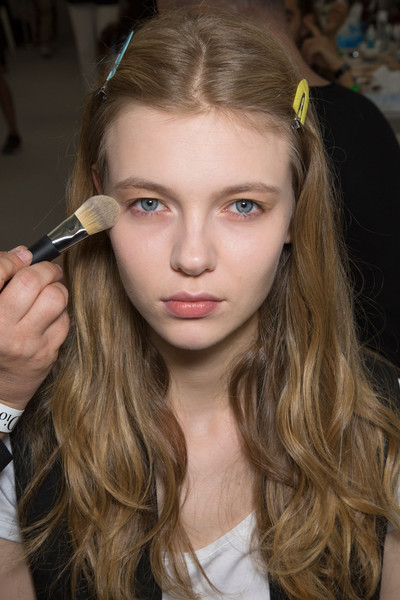 Christian Dior at Couture Fall 2015 (Backstage)