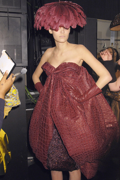 Christian Dior at Couture Spring 2008 (Backstage)