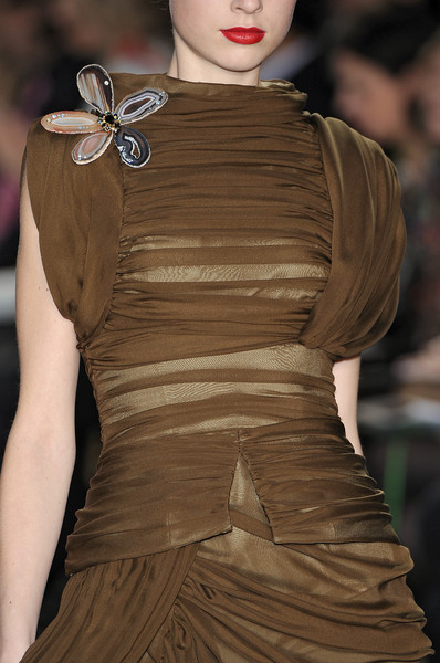 Christian Lacroix at Paris Fall 2009 (Details)